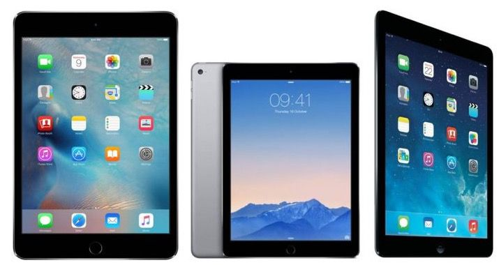 Apple iPad Air, Air 2, Mini 3 oder Mini 4 als Demoware ab 249€