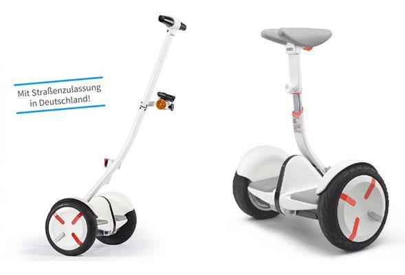 Ninebot by Segway Demo Modelle bis  33% Rabatt – z.B. Mini Pro 260 für 502€ (statt 749€)