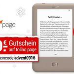 Tolino Page eBook-Reader für 49€(statt 61€)