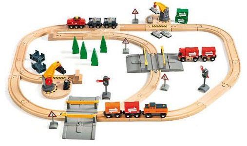 Brio Lift and Load Railway Set für 52€ (Vergleich 69€)
