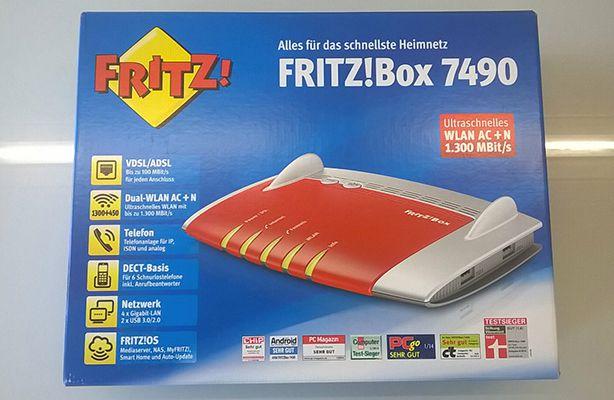 Wichtig! Info zur AVM FRITZ!Box 7490 für 149,99€ vom Dezember 2016