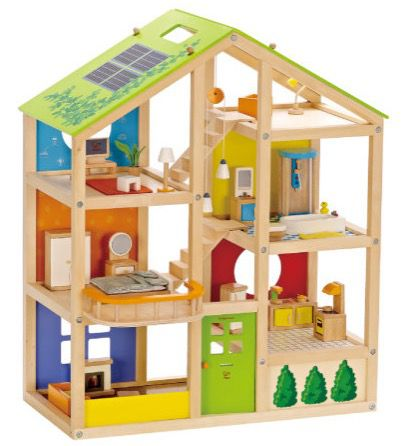 HAPE Vier Jahreszeiten Haus mit Möbel 35 teilig für 89,10€ (statt 108€)
