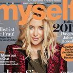 """12 Ausgaben der """"myself"""" + ikoo e-styler Glätteisen mit Bürste für 89€ (statt 155€)"""