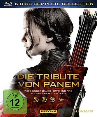 Die Tribute von Panem   Complete Blu ray Collection für 28,99€ (statt 35€)