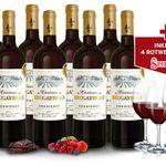 8 Fl. des mehrfach goldprämierten Château Brugayrole + 4 Spiegelau Gläser für 39,90€