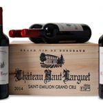 6 Flaschen Château Haut Larguet Grand Cru in edler Holzkiste für 58,89€