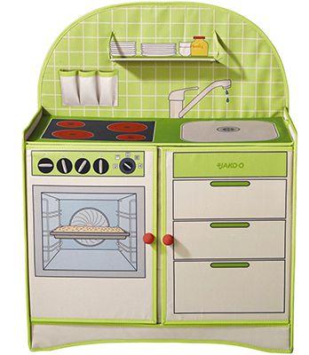 Faltbare Spielküche aus Stoff für 22,90€