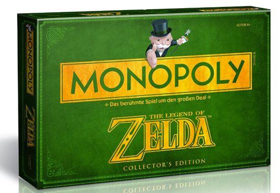 Vorbei! Monopoly Zelda Collectors Edition für 18,99€ (statt 31€)