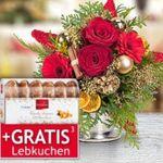 30% auf Blumen & Weihnachtssträuße + VSK-frei + teilweise gratis Lebkuchen