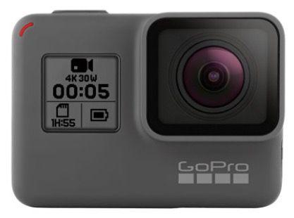 GoPro HERO5 Black 4K Cam (refurbished) für 244,98€ (statt neu 280€)