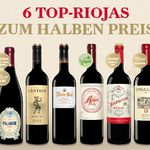 6 Flaschen Rioja Weine für 38€ + VSK-frei