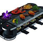 Suntec Flex 8 RAC-8069 – Raclette-Set mit Steinplatte für 39,99€ (statt 65€)