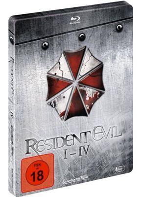 Resident Evil Quadrilogy Limited Steelbook Blu ray Edition ab 39,99€ (statt 55€)