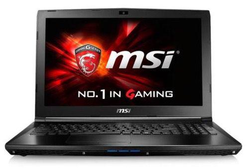 MSI GL62 6QFAC16H21   15,6 Zoll Gaming Notebook für 899,10€ (statt 1.149€)