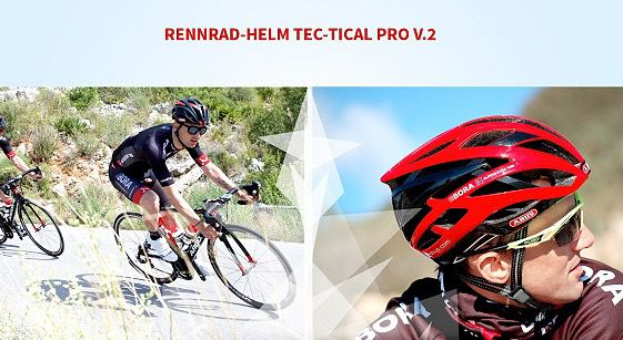 Abus Bügelschloss und Rennrad Helm Sale   z.B. Tec Tical Pro v.2 Helm für 70€ (statt 87€)