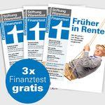 3 Ausgaben Finanztest gratis + Archiv-CD 2016 für 4,90€