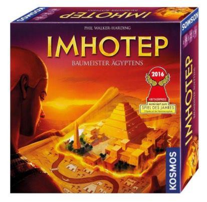 Imhotep Baumeister Ägyptens für 23,99€ (statt 30€)   nominiert zum Spiel des Jahres 2016