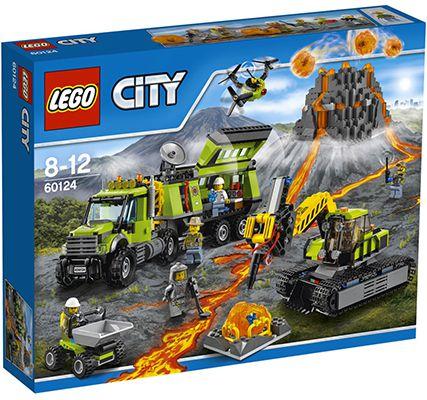 Lego City 60124 Vulkan Forscherstation für 74,94€ (statt 88€)
