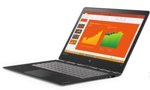 Lenovo Yoga 900S 12ISK   12,5 Zoll QHD Notebook + Win 10 für 895,99€(statt 985€)