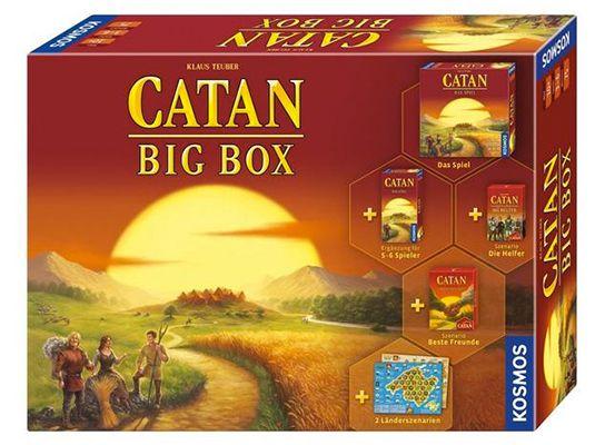 Catan Big Box Brettspiel für 34,99€ (statt 45€)