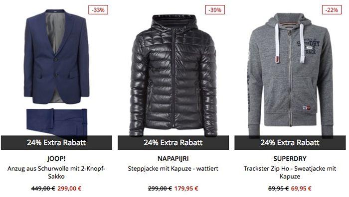 Nur noch bis 10 Uhr! Peek & Cloppenburg* Winter Sale + 24% XMAS Gutschein + VSK frei