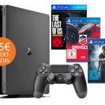Nur heute! Playstation 4 Angebote mit 75€ Sofort-Rabatt – z.B. PS4 slim 500GB für 214€