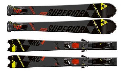 Fischer P06815 Race Carver Ski RC4 Superior Pro RT RSX Z12 Powerrail für 289,95€ (statt 330€)