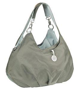 Lässig Wickeltasche in Grau Mint oder Rot Silber für 50,94€ (statt 103€)