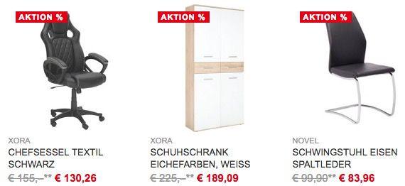 65€ Gutschein für den XXXL Möbel Sale (MBW 300€)