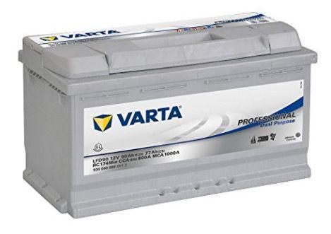 Fehler? Varta Professional Dual Purpose 12V 90Ah LFD 90 Batterie für 50,19€ (statt 105€)