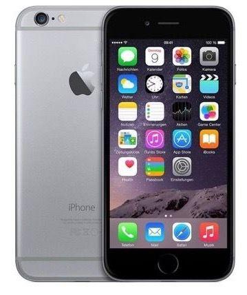 iPhone 6 16GB in Spacegrau für 329,90€ (statt 430€)   neuwertiger Zustand