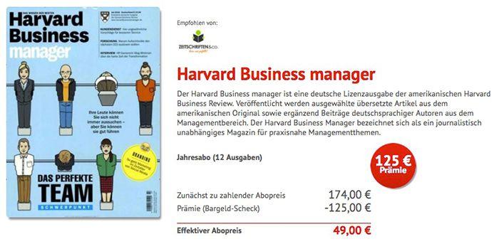 Bildschirmfoto 2017 01 11 um 15.41.03 Jahresabo Harvard Business manager nur 49€ (statt 174€)
