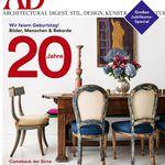 10 Ausgaben Architectural Digest inkl. 50€ Amazon Gutschein für 68€