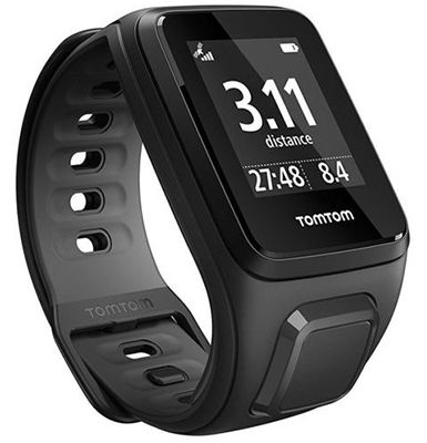 TomTom Runner 2 Cardio GPS Sportuhr für 105,90€ (statt 120€)