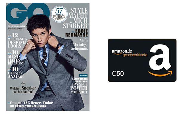 Bildschirmfoto 2017 02 20 um 09.55.14 GQ Jahresabo für effektiv 6,50€ dank 50€ Amazon Gutschein