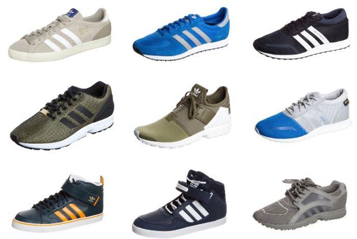 adidas Sneakers günstig in der Zalando Lounge   z.B. adidas Originals ZX FLUX für 61€ (statt 78€)