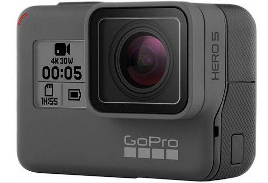 GoPro HERO5 Black 4K Actioncam mit Zubehör Bundle für 299€ (statt 345€)