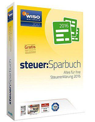 WISO steuer:Sparbuch 2017 für 17,99€ (statt 22€)