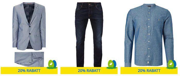 Peek & Cloppenburg* Sale mit 20% Extra Rabatt auf ausgewählte Artikel