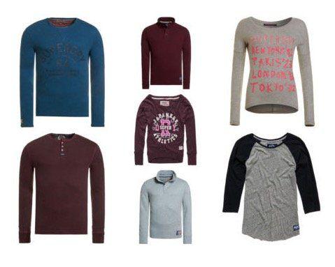 Superdry Pullover, Sweatshirts, Tops für Damen und Herren für je 23,95€