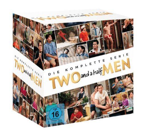 Two and a Half Men Komplettbox (alle Staffeln, 40 DVDs) für 46€ (statt 55€)