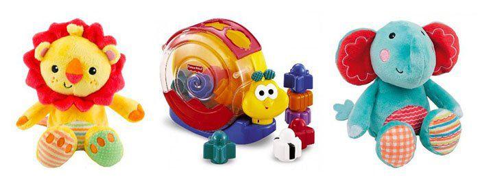 Günstiges Fisher Price Spielzeug bei TOP12   z.B. Fisher Price Lernspaß Einkaufstasche für 12,12€ (statt 22€)