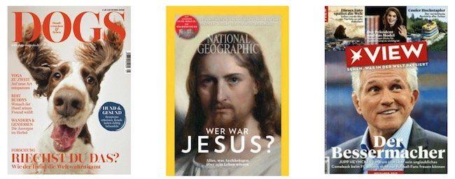 Große DPV Weihnachtskampagne mit vielen günstigen Abos – z.B. National Geographic Jahresabo