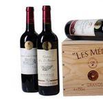 6 Flaschen goldprämierte Bordeaux-Weine in Holzkiste für 44,94€
