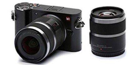 YI Technology M1 WiFi 4K Digitalkamera + 12 40mm + 42,5mm Objektiv für 199€ (statt 281€)