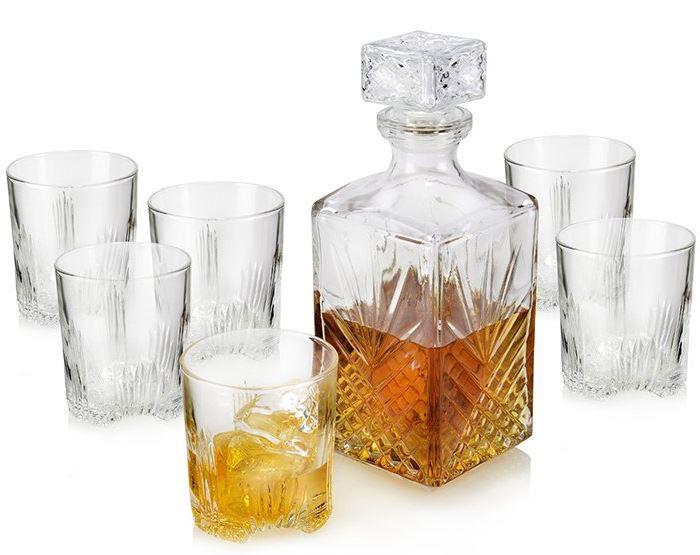 Schnell! Bormioli 6 Whiskygläser Set mit 1l Karaffe für nur 14,90€