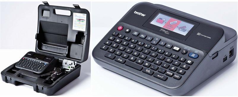 Brother P touch D600VP Beschriftungsgerät für 69,90€ (statt 78€)