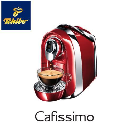 TCHIBO Cafissimo COMPACT Kaffeemaschine + 110 Kapsel für 35€ (statt 65€)