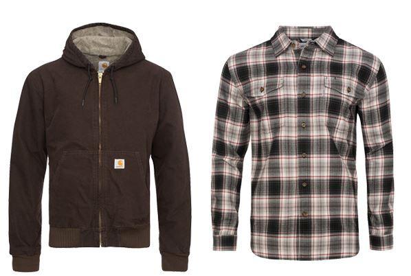 Carhartt Angebote Carharrt Herren Hemden und Jacken ab 9,99€