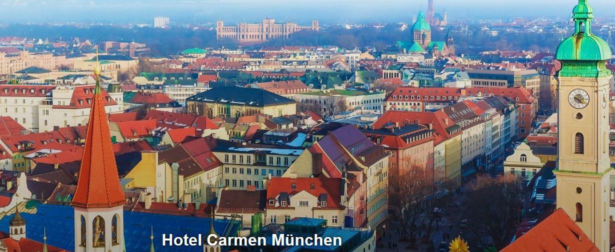 Carmen München 3* Hotel Carmen München: 2 Übernachtungen nur 79€ p.P.